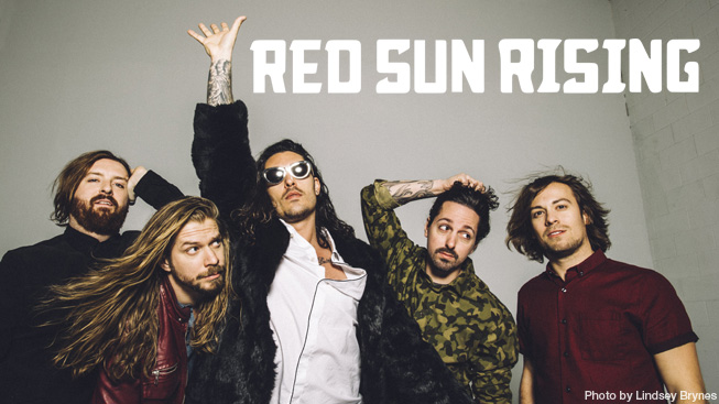 Red Sun Rising photo by Lindsey Brynes
